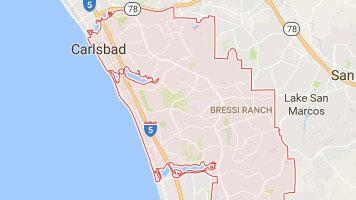 Appliance Repair CARLSBAD CA Premier Appliance - Carlsbad ca map